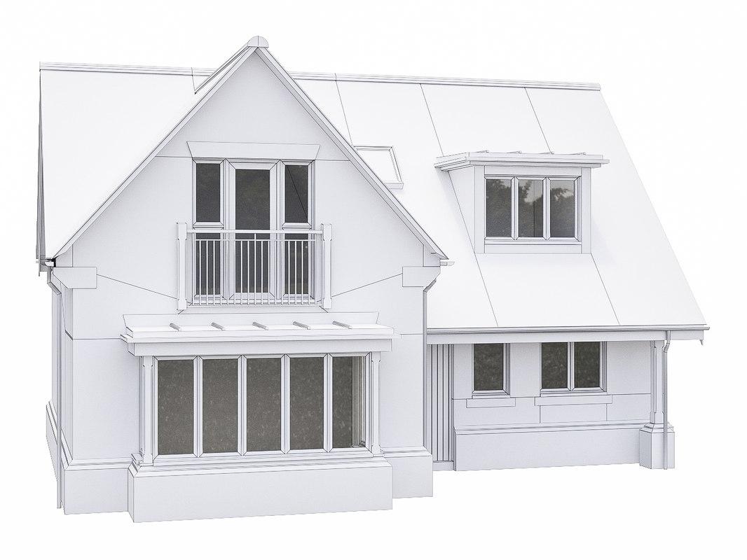 neighborhood house 3D
