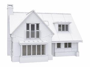 house scenes build model