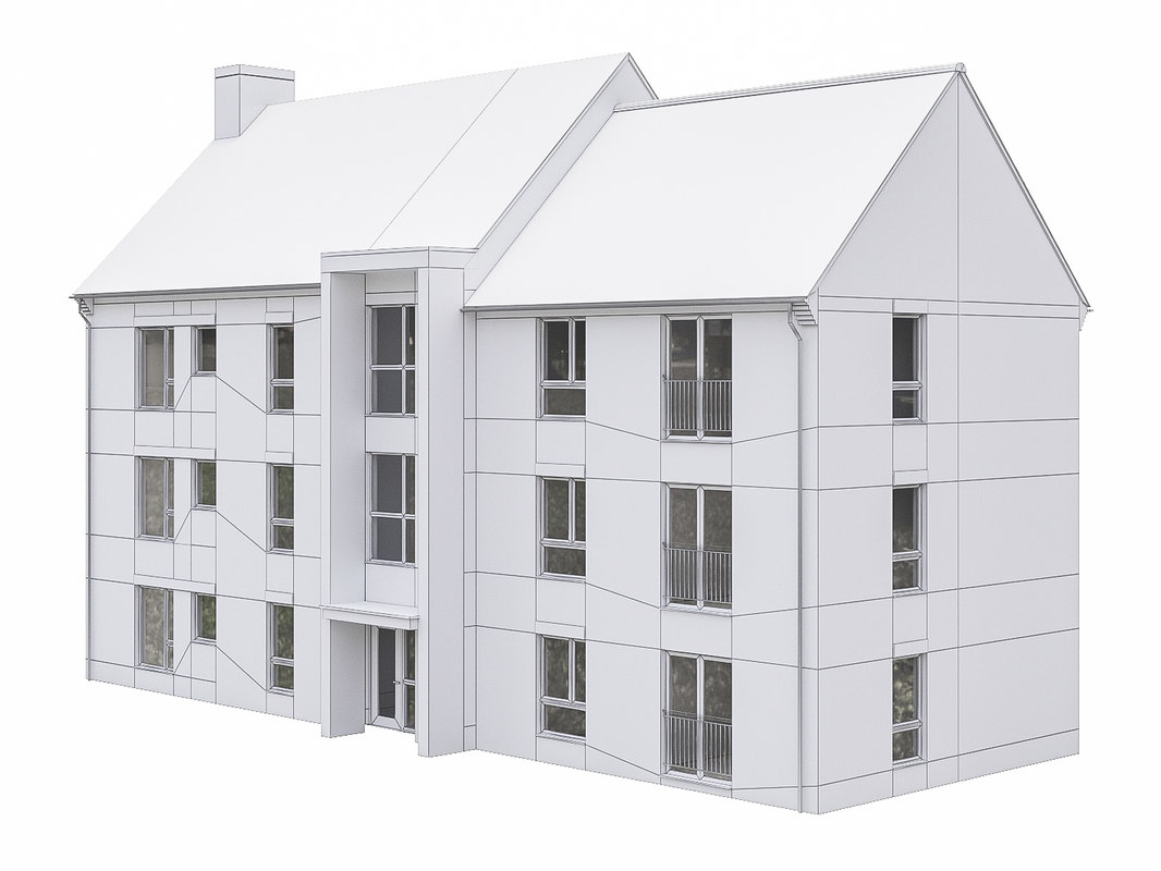 house scenes build 3D