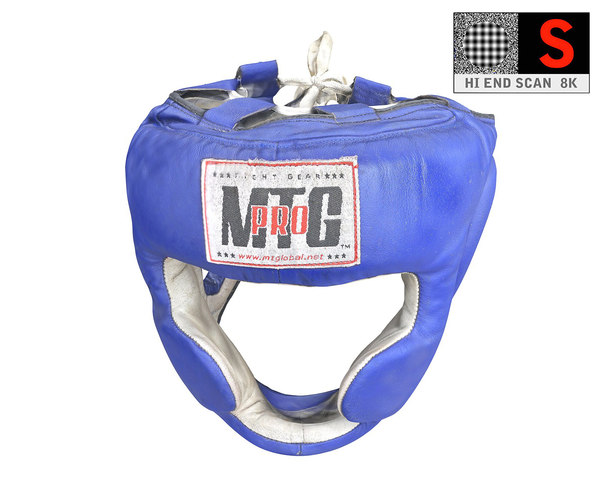 boxing helmet hd 8k 3D model