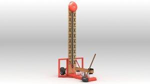 hammer play 3D model