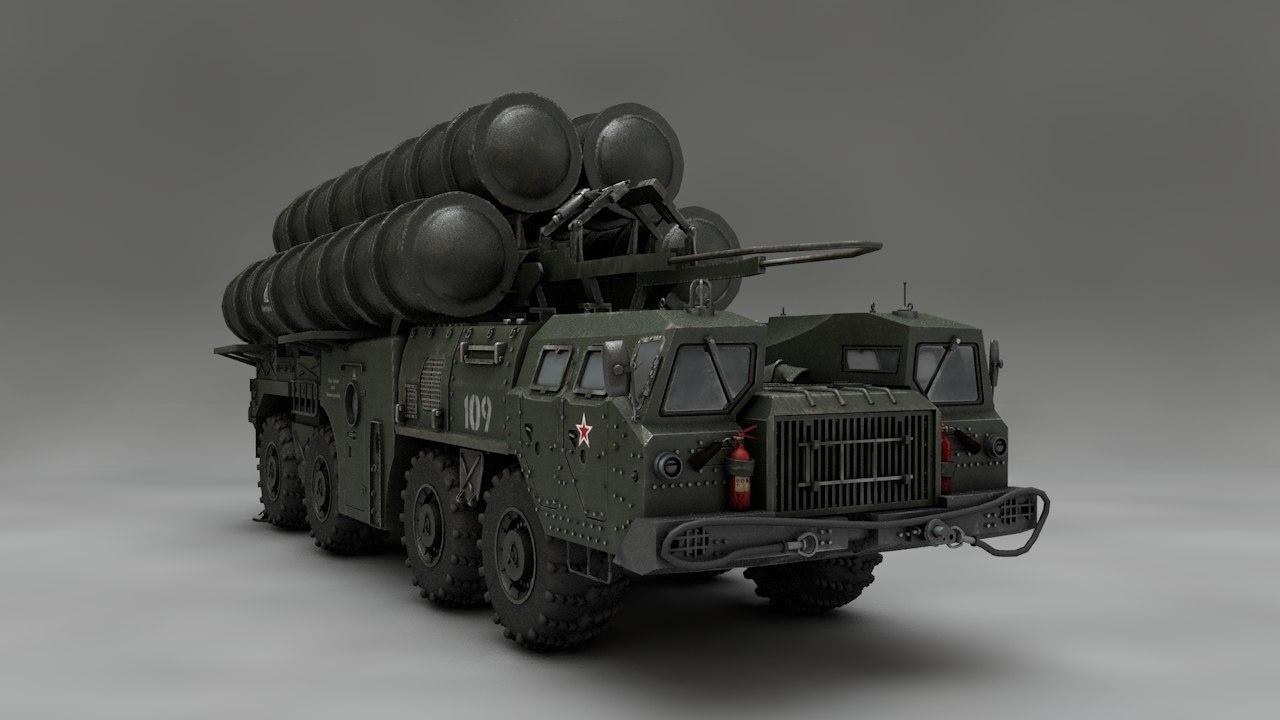 3D pbr s-500 prometey model