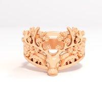 ring deer 3D model
