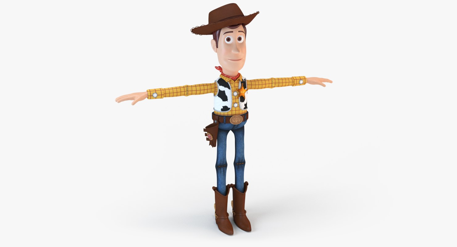 sheriff woody 3D