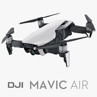 dji mavic air 3D model