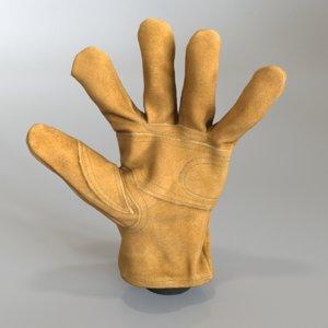 carhartt glove 3D model