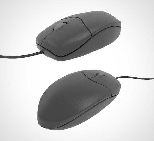 3D computer mouse 001 model