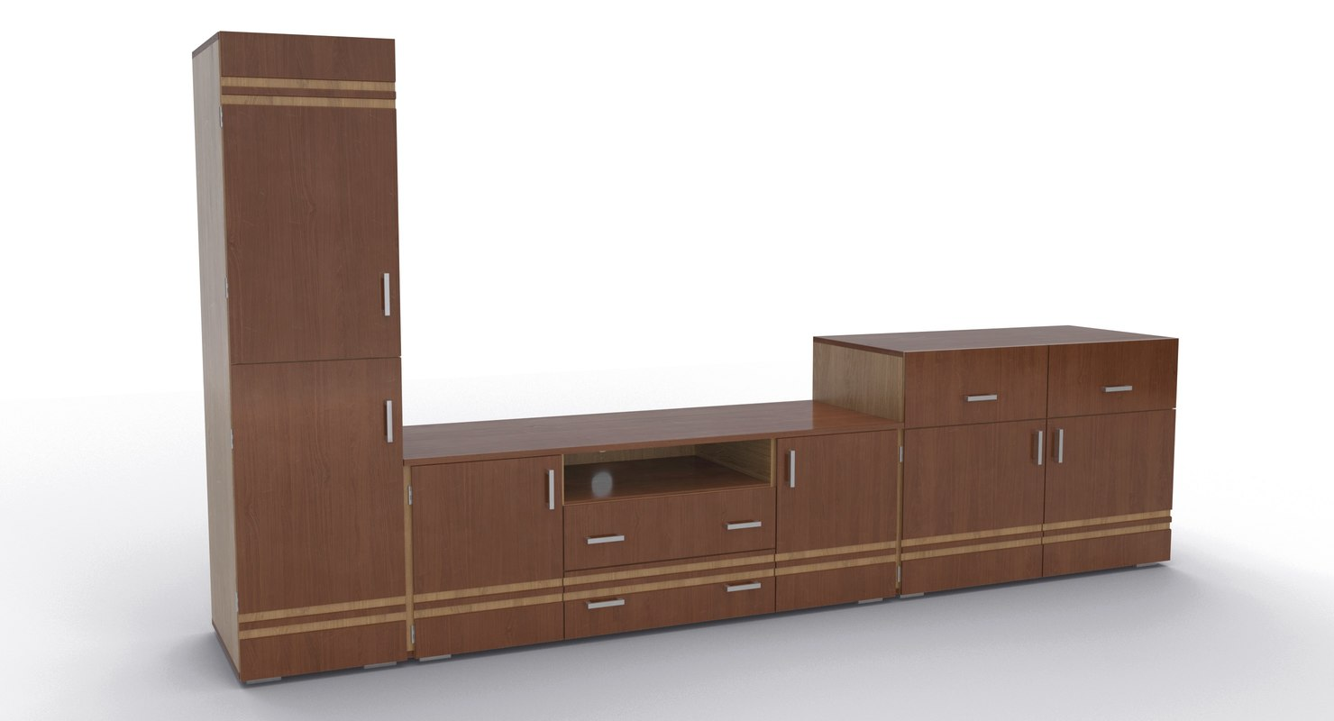 3D tv stand 48