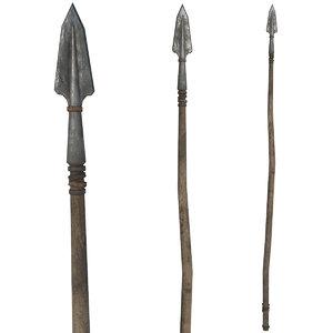 3D spear