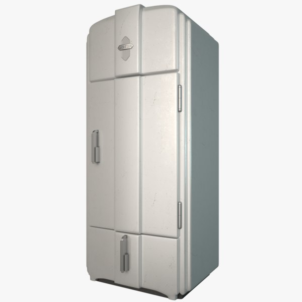 3D refrigerator old model