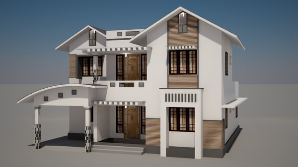 Free House 3d Models For Download Turbosquid