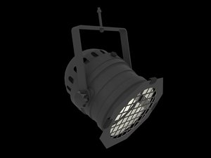 professional stage lighting 3D model