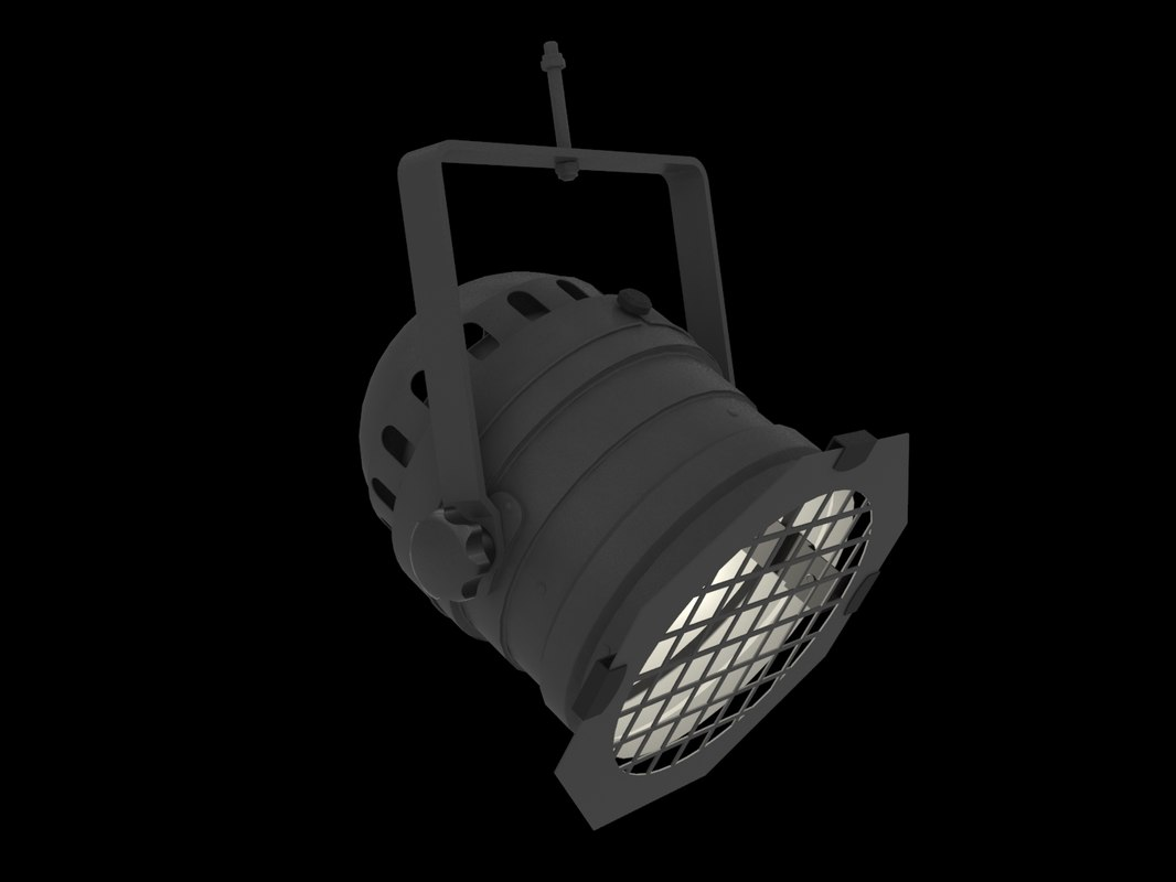 professional stage lighting 3D model