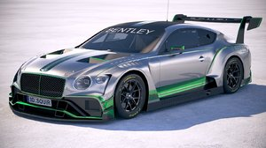3D bentley continental gt3