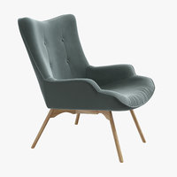 3D ejerslev armchair - model