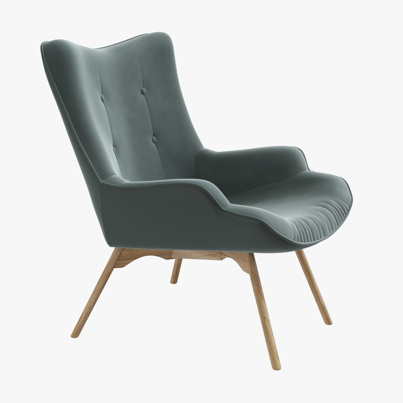 3D ejerslev armchair - model