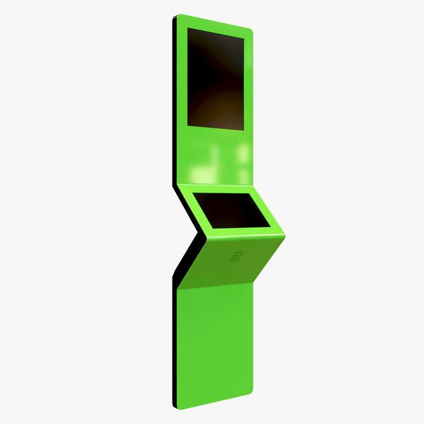 3D kiosk info