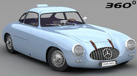 mercedes-benz 300sl 1952 3D model