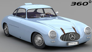 mercedes-benz 300sl 1952 3D model