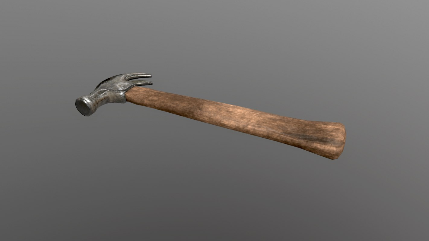old clawhammer 3D model