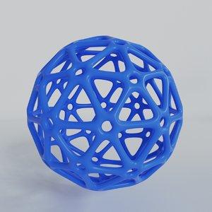 3D printing ball model
