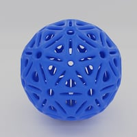 3D model printing ball