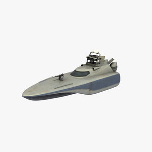 3D model seraj-1 fast attack craft