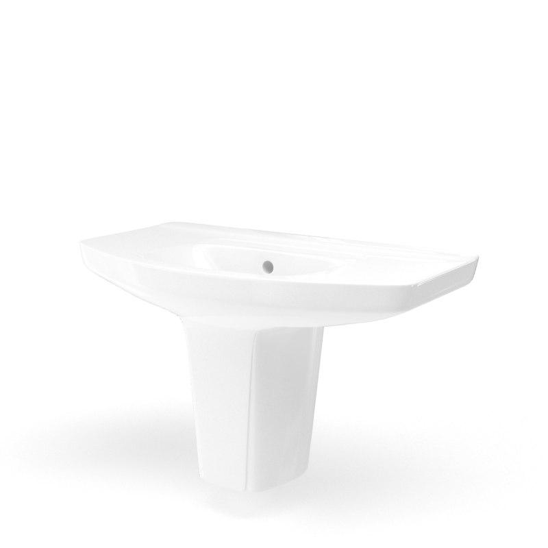 3D bathroom sink model