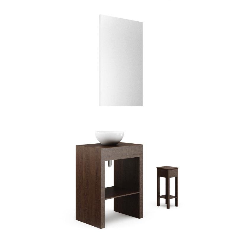bathroom furniture 3D