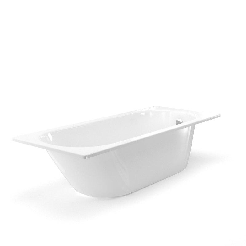 bath bathtub 3D