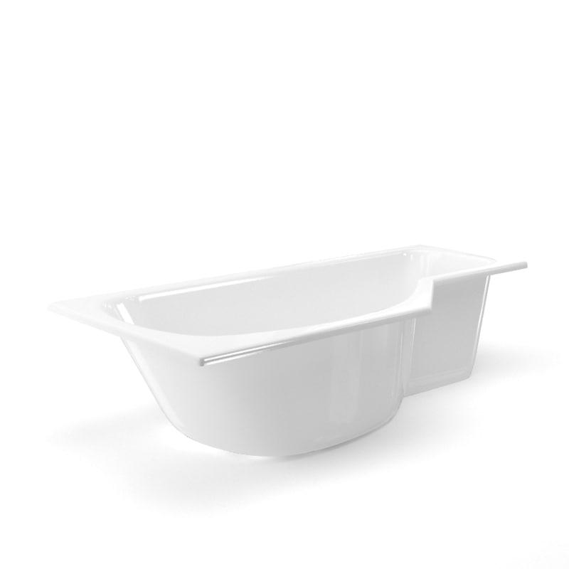 3D bath bathtub tub model
