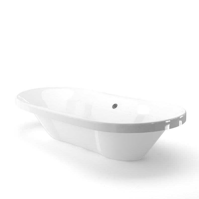 3D model bathtub ready