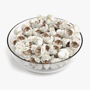 popcorn bowl model
