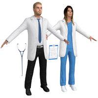 3D pack doctors