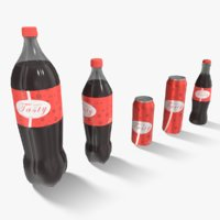 3D soft drinks