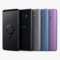 3D samsung galaxy s9 color