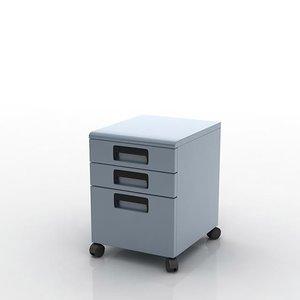 3D file cabinet