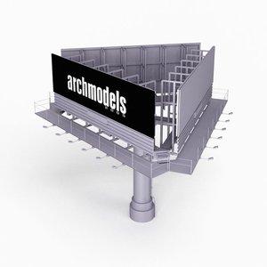street element 3D model