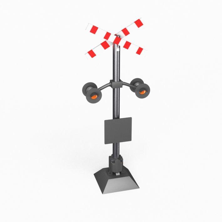 3D street element model