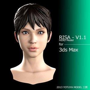 facial 3D model
