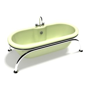 bath bathtub tub 3D