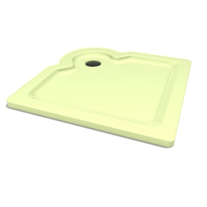 3D model shower base