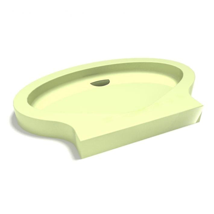 shower base 3D model