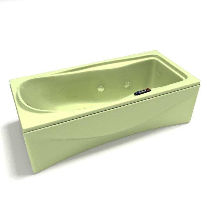 bath bathtub 3D model