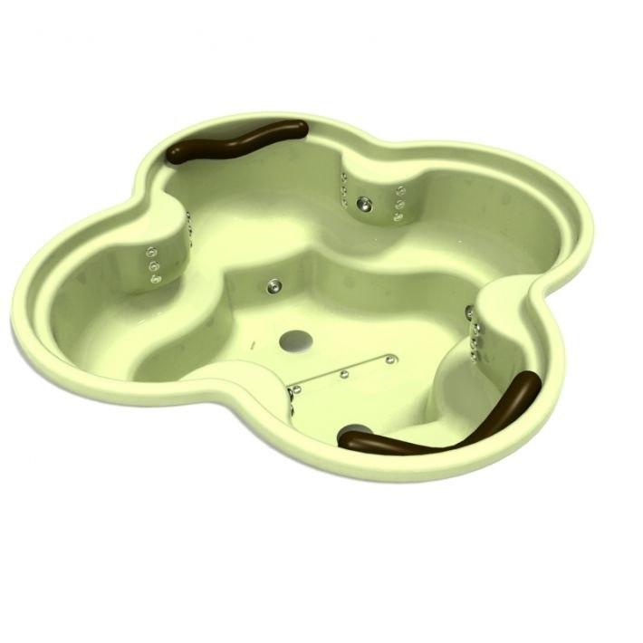 3D bath bathtub tub