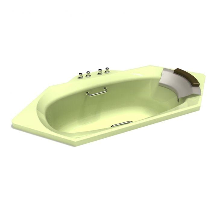 bath bathtub 3D model