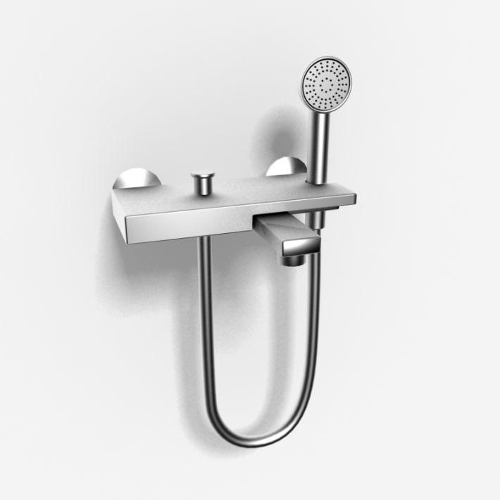 3D shower panel model