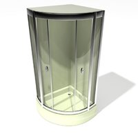 shower cabin 3D model