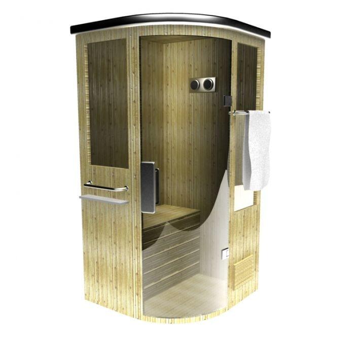 sauna 3D
