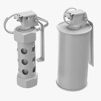 3D m84 stun grenade m18